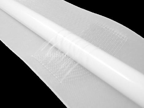 Stangendurchschubband 100mm Breit Transparent