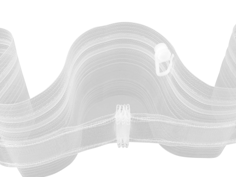 Creativ Wellenband  Welle 80mm Breit Transparent KE 1436
